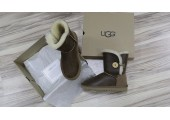 UGG Bailey Button Bomber Chocolate - Фото 2