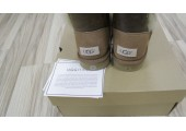 UGG Bailey Button Bomber Chocolate - Фото 6