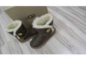 UGG Bailey Button Bomber Chocolate - Фото 7