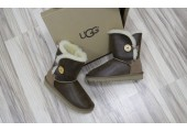 UGG Bailey Button Bomber Chocolate - Фото 5