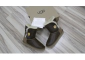 UGG Bailey Button Bomber Chocolate - Фото 10
