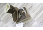 UGG Bailey Button Bomber Chocolate - Фото 8