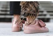 Кроссовки Puma Basket Heart Pastel Pink - Фото 8