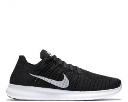 Кроссовки Nike Free Run Flyknit Black Wind