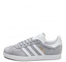 Кроссовки Аdidas Gazelle Mid Grey/Ftwr White/Gold Metallic