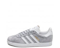 Кроссовки Аdidas Gazelle Mid Grey/Ftwr White/Gold Metallic