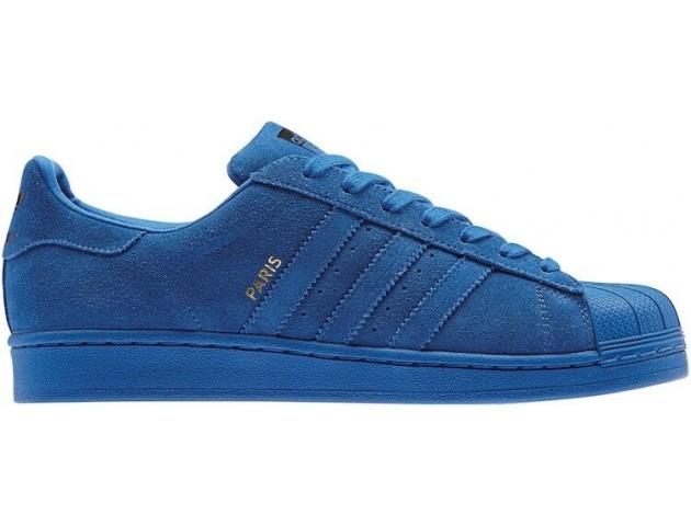 Кроссовки Adidas Superstar 80s City Series Paris Blue