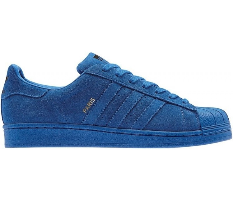 5d1f0086fbb936 Кроссовки Adidas Superstar 80s City Series Paris Blue купить в Киеве ...