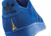 Кроссовки Adidas Superstar 80s City Series Paris Blue - Фото 2