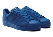 Кроссовки Adidas Superstar 80s City Series Paris Blue - Фото 3
