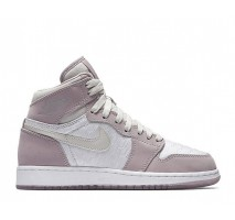 Кроссовки Air Jordan 1 High HC White/Lavender