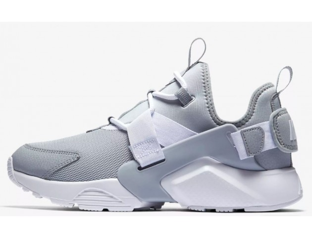 Кроссовки Nike Air Huarache City Low Wolf Grey/White