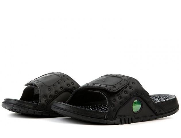 Шлепанцы Air Jordan Hydro 13 All Black