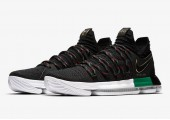 Кроссовки Nike KD 10 Black History Month - Фото 2