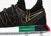 Кроссовки Nike KD 10 Black History Month - Фото 3