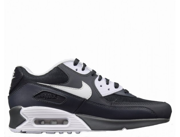 Кроссовки Nike Air Max 90 Essential Black/Chrome Grey