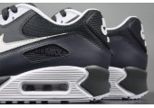 Кроссовки Nike Air Max 90 Essential Black/Chrome Grey - Фото 4