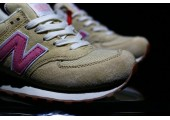 Кроссовки New Balance 574 Tan/Pink - Фото 10