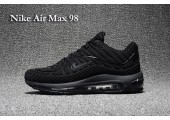 Кроссовки Nike Air Max 98 Triple Black - Фото 2