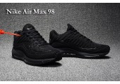 Кроссовки Nike Air Max 98 Triple Black - Фото 3