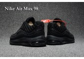 Кроссовки Nike Air Max 98 Triple Black - Фото 5