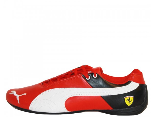 Кроссовки Puma Ferrari Red/White/Black