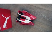 Кроссовки Puma Ferrari Red/White/Black - Фото 5