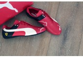 Кроссовки Puma Ferrari Red/White/Black - Фото 2
