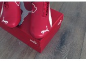 Кроссовки Puma Ferrari Red/White/Black - Фото 4