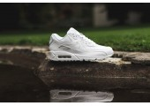 Кроссовки Nike Air Max 90 Leather All White - Фото 7