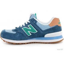 Кроссовки New Balance WL 574 PIA Blue