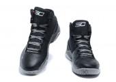 Баскетбольные кроссовки Under Armour Curry 2 Triple Black - Фото 4