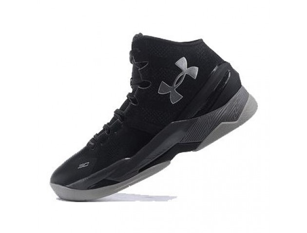 Баскетбольные кроссовки Under Armour Curry 2 Triple Black