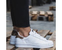 Кроссовки Adidas Superstar Snake White