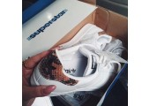 Кроссовки Adidas Superstar Snake White - Фото 3