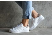 Кроссовки Adidas Superstar Snake White - Фото 5