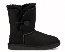 UGG BABY BAILEY BUTTON II BOOT BLACK