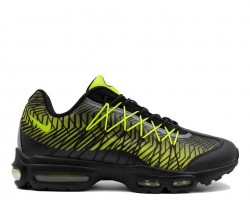 Кроссовки Nike Air Max 95 Ultra Jacquard Black/Lime Green