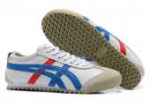 Кроссовки Asics Gel x Onitsuka Tiger White/Cream/Blue/Red - Фото 3