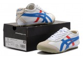 Кроссовки Asics Gel x Onitsuka Tiger White/Cream/Blue/Red - Фото 4