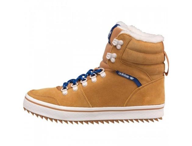 Кроссовки Adidas Honey Hill Tan С МЕХОМ