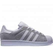 Кроссовки Adidas Superstar Silver/White