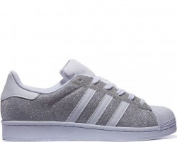 Кроссовки Adidas Superstar Silver/White