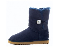 UGG BAILEY BUTTON II BLING BOOT NAVY