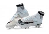 Футбольные бутсы Nike Mercurial Superfly V Ronalro AG White - Фото 10