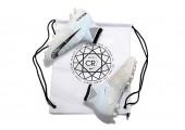 Футбольные бутсы Nike Mercurial Superfly V Ronalro AG White - Фото 4