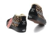Зимние кеды Vans Black/Leopard С МЕХОМ - Фото 6