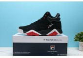 Кроссовки Fila Vita Black/Red - Фото 2