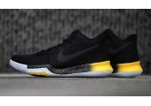 Баскетбольные кроссовки Nike Kyrie 3 Black/Yellow - Фото 2