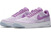 Кроссовки Nike Air Force 1 Ultra Flyknit Low Royal Orchid - Фото 5